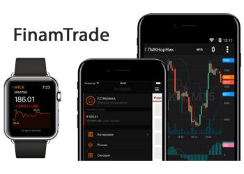 Приложение для торговли Finam Trade