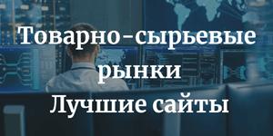 Лучшие сайты для анализа товарных рынков